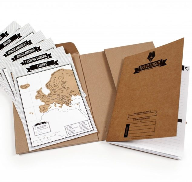 Travel & Scratch reisdagboek