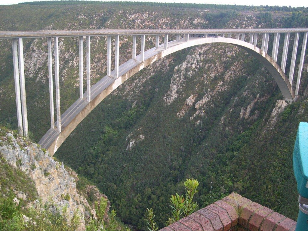 Bloukrans Bungeejump Worlds Highest Jump