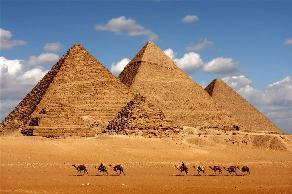 Egypte piramides