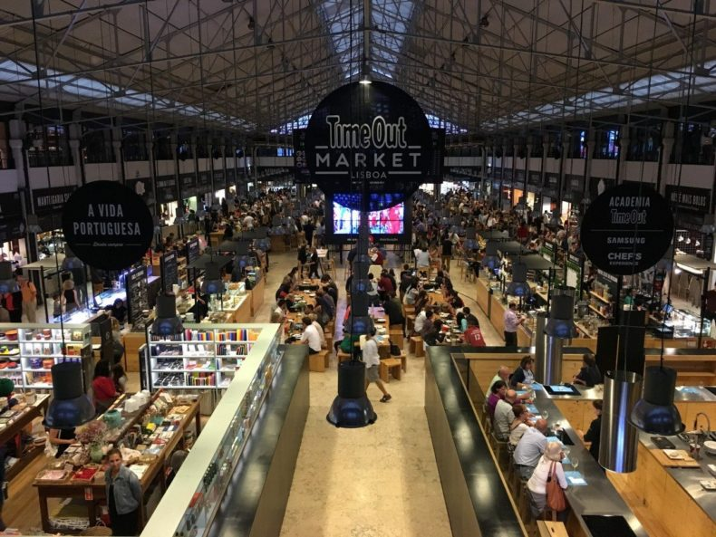 timeout foodhall lissabon