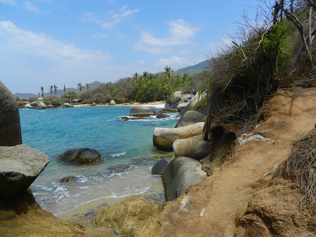 Tayrona-national-park-colombia-sea