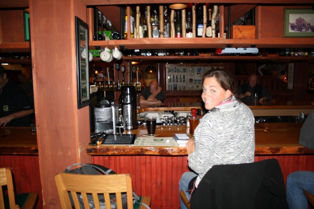 Woodstock Inn bar