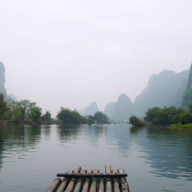 Betoverende karstbergen in Yangshuo, China