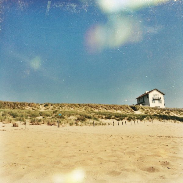 Afterlight foto duinen