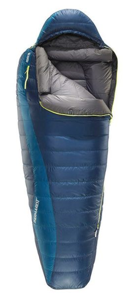 Thermarest Altair winterslaapzak getest
