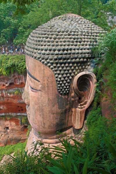 China-Leshan-Giant-Buddha-Face