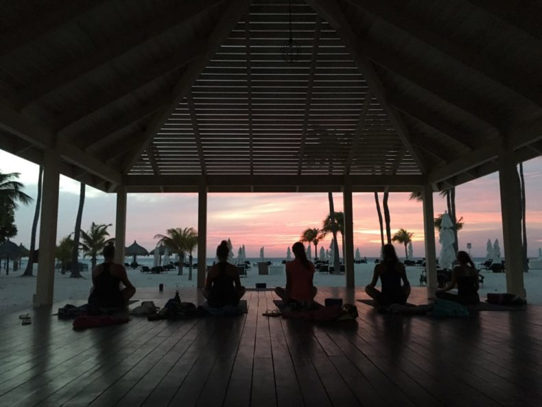 Sunset Yoga Aruba