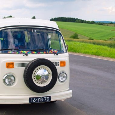 Roadtrippen in een retro VW camper door de Benelux