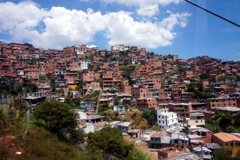 Colombia-Medelling-Poor-Area