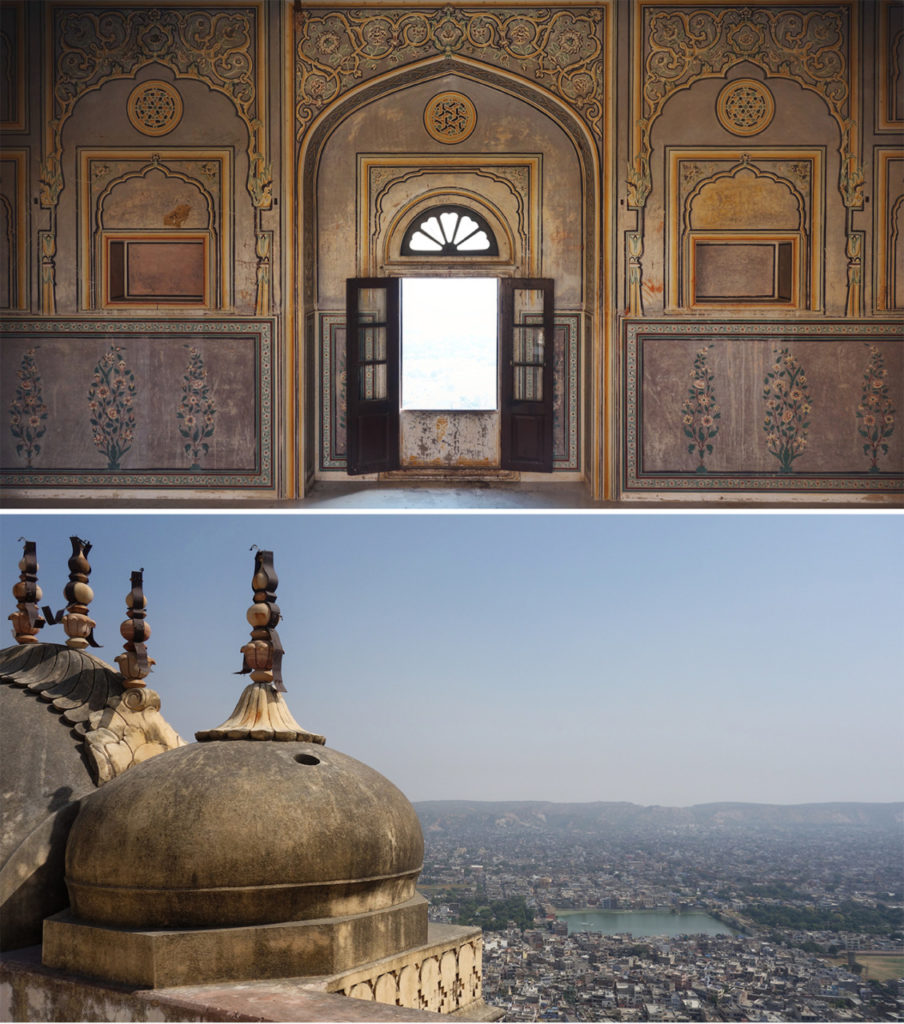 jaipur-india-Nahargah-fort