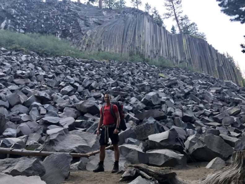 Devils Postpile low