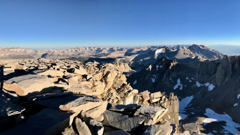 Sierra Nevada from Whitney