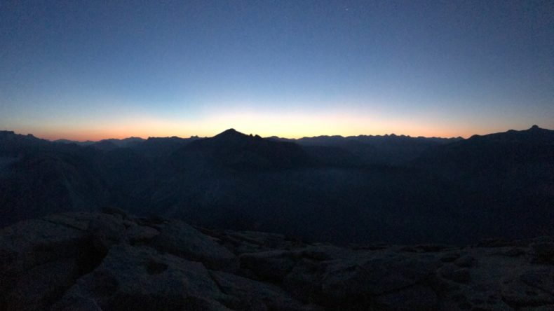 Sunrise Half Dome