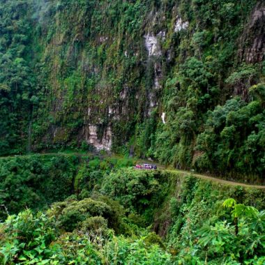 Death road Bolivia: Mountainbiken op the most dangerous road of the world