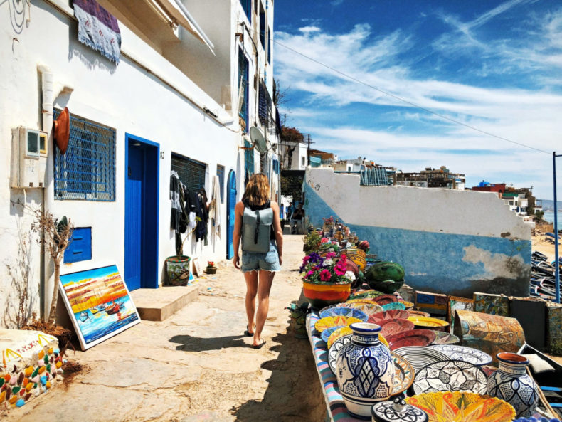 Shoppen in Taghazout