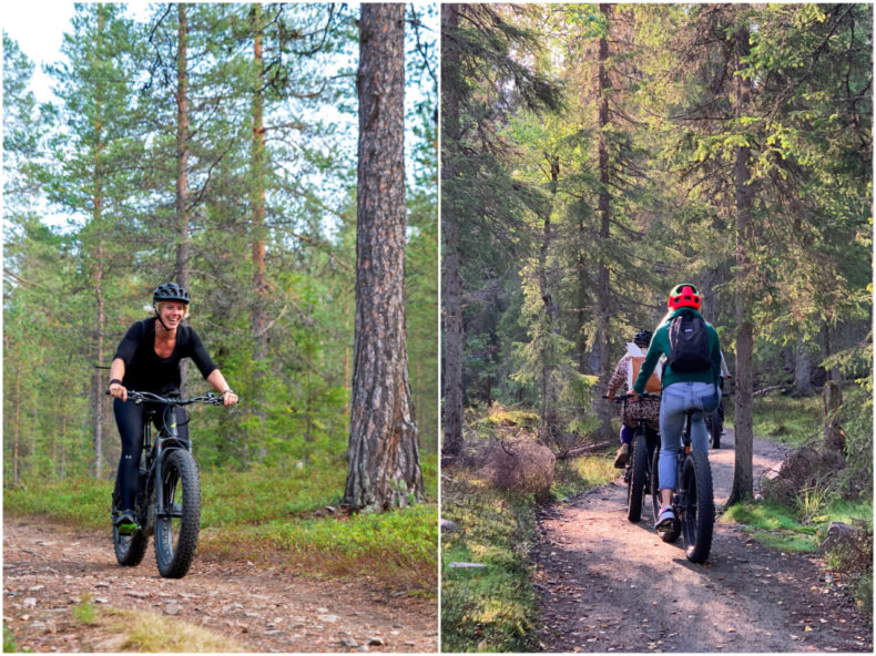 fatbike yllas lapland finland