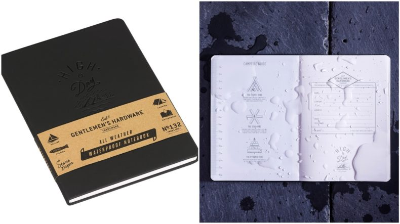 luxe notitieboek waterproof