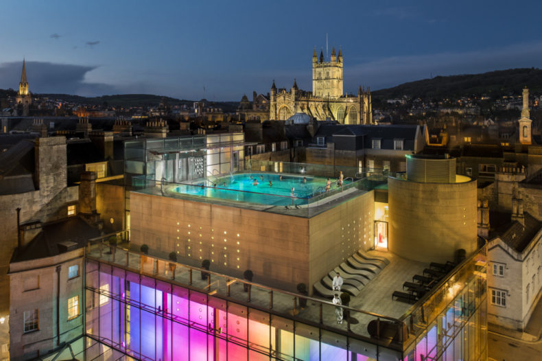 Thermen spa bath