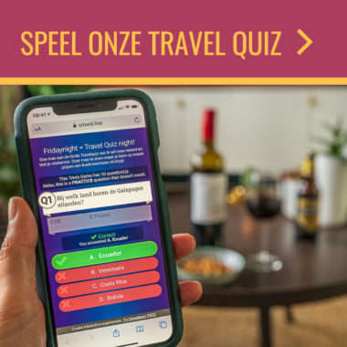 Friday Night Travel Quiz: speel 28 augustus mee en win mooie prijzen!