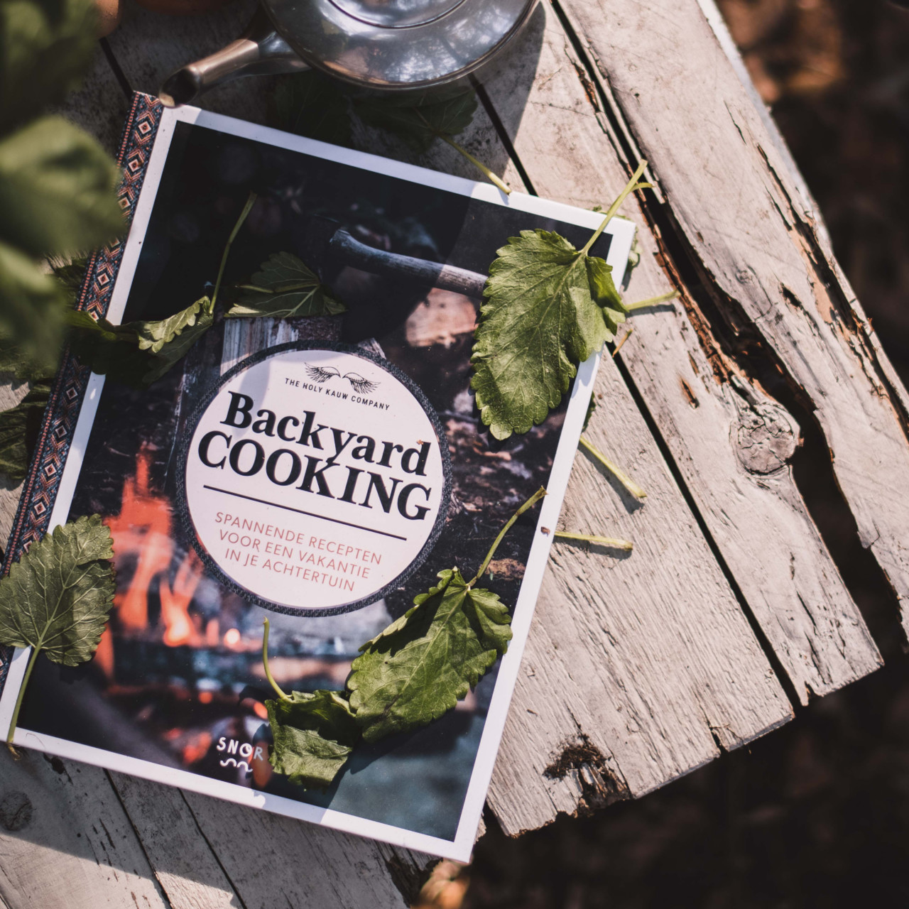 Backyard cooking – outdoor kookboek
