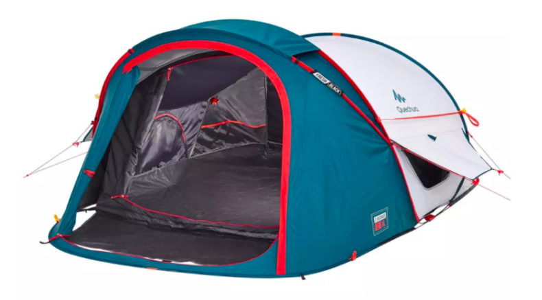 pop-up tent decathlon