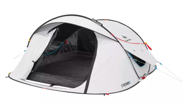 3-persoons pop-up tent