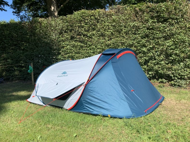 decathlon 3 persoons pop-up tent xl