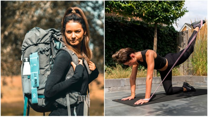 fitness elastiek backpackers